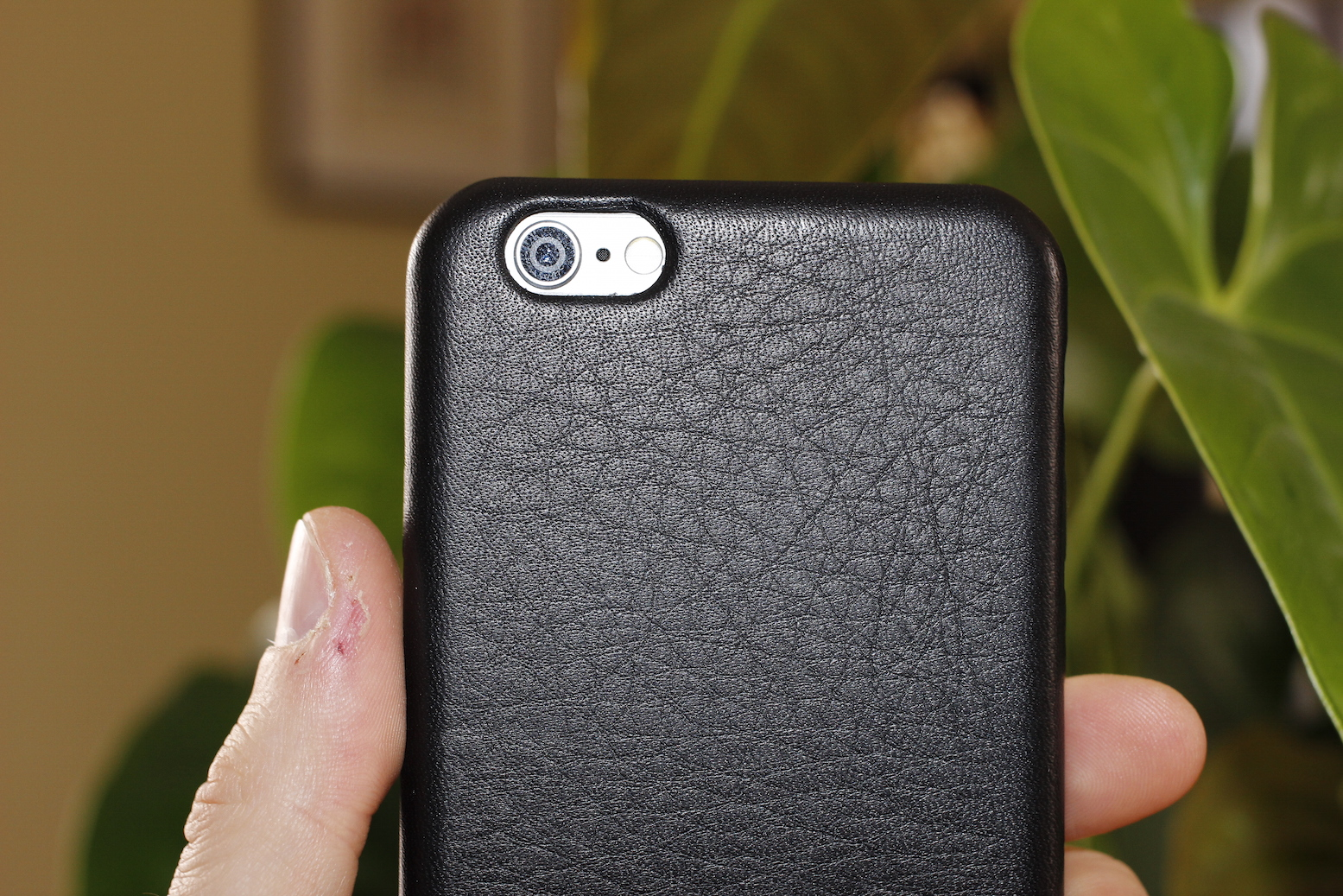 iphone se custodia pelle