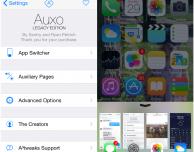 Auxo Legacy Edition, l'originale Auxo ripensato per iOS 8 – Cydia