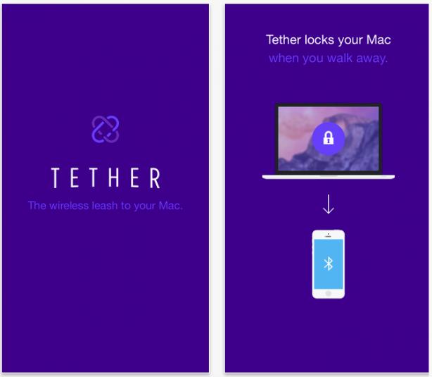 Tether: l'app per sbloccare e bloccare il Mac in base alla