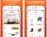Home24: l'app per l'acquisto online di mobili, lampade ed altri oggetti per la casa