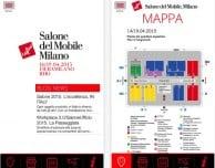 Due app per seguire il Salone del Mobile 2015