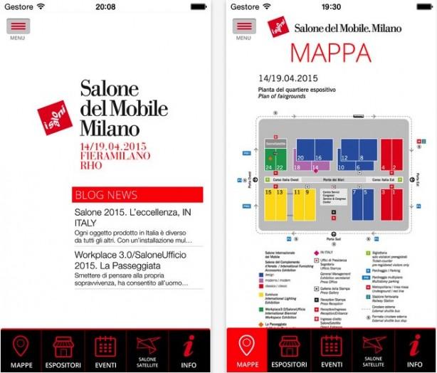 Due app per seguire il salone del mobile 2015 iphone italia for Il salone del mobile