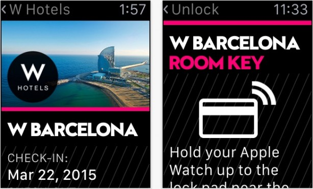 SPG: Starwood Hotels & Resorts Apple Watch