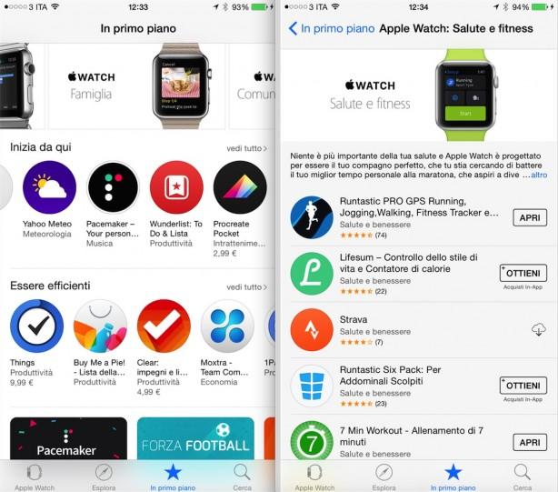 L Applicazione Apple Watch Ha Il Suo App Store In Italiano Iphone Italia