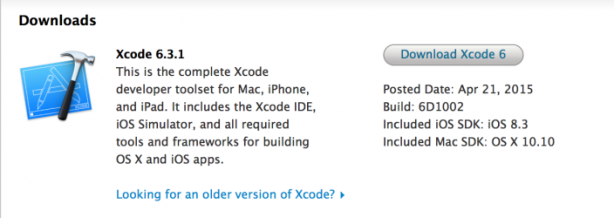 Image Apple Rilascia Xcode 6 3 1 Correggendo Alcuni Bug Iphone Italia ...