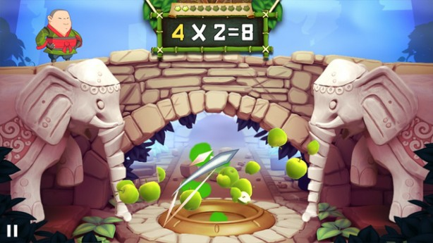 Fruit Ninja Academy- Math Master iPhone pic1