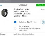 A breve sarà possibile effettuare il pick-up di Apple Watch negli Store dei paesi di lancio