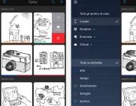 Carbo, la nuova app per scrivere le note manuali su iPhone