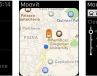 Le informazioni sui trasporti pubblici di Moovit arrivano su Apple Watch
