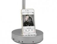 Nodis lancia le nuove lampade da tavolo con docking station per iPhone