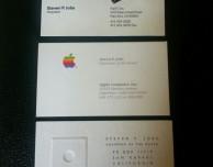 Tre biglietti da visita di Steve Jobs venuti per 10.000 dollari!