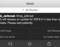 """In arrivo anche TaiG per iOS 8.4: """"PP25 Ghost è un Jailbreak rubato a noi!"""""""