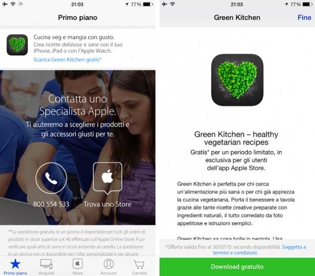 vegetariano iPhone