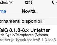 TaiG si aggiorna alla versione 2.2.1: migliora la stabilità e la percentuale di riuscita del Jailbreak
