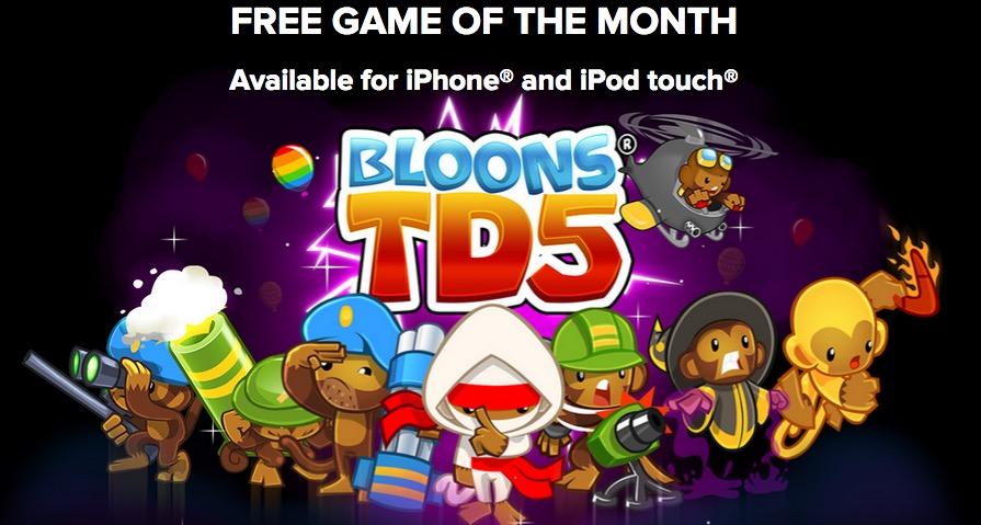 """""""Bloons TD 5"""" ora gratis, ma solo tramite codice sconto"""