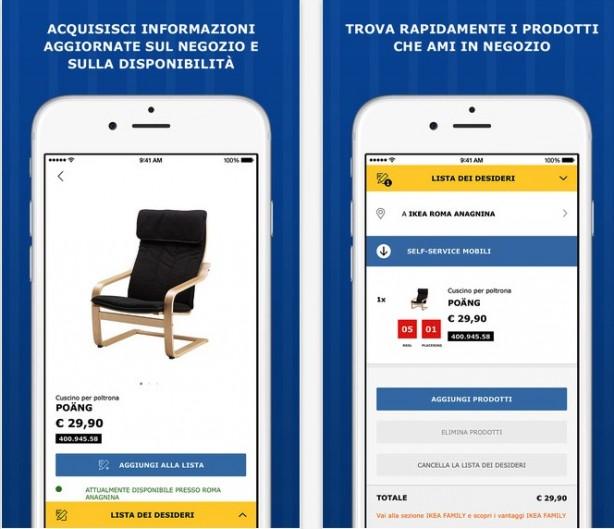 Ikea Lancia La Nuova App Ios Iphone Italia