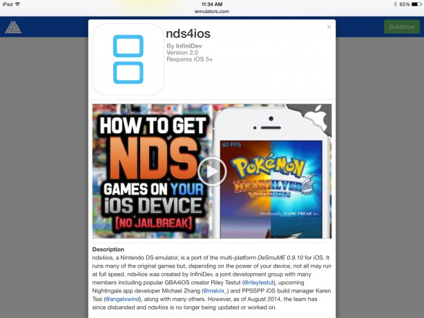 Come installare l'emulatore del Nintendo DS su iPhone