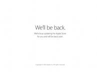 Apple Store offline: stanno per arrivare i nuovi iPod