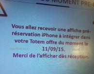 I pre-ordini dell'iPhone 6s inizieranno l'11 settembre?