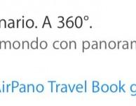 """""""AirPano Travel Book"""" gratis con l'applicazione Apple Store"""