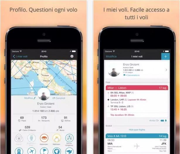 Flight Tracker e Guida aeroporti iPhone pic0