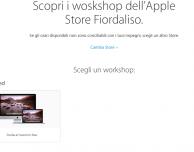 Apple semplifica le prenotazioni online dei Workshop