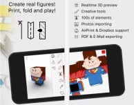 Foldify: costruisci figure reali ed in 3D
