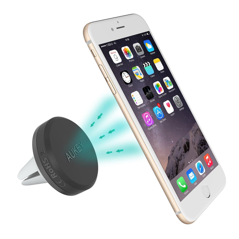 d644a32a4fdd8f Supporto magnetico da auto universale di AUKEY - Recensione - iPhone ...