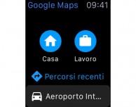 Google Maps si aggiorna e diventa compatibile con Apple Watch
