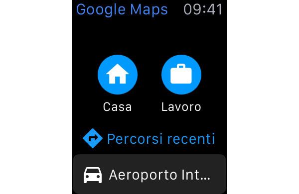 Google Maps Apple Watch pic0
