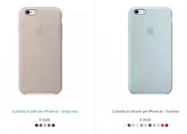 custodia iphone 6 apple silicone