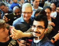 Sorpresa all'Apple Store di New York: arriva Tim Cook