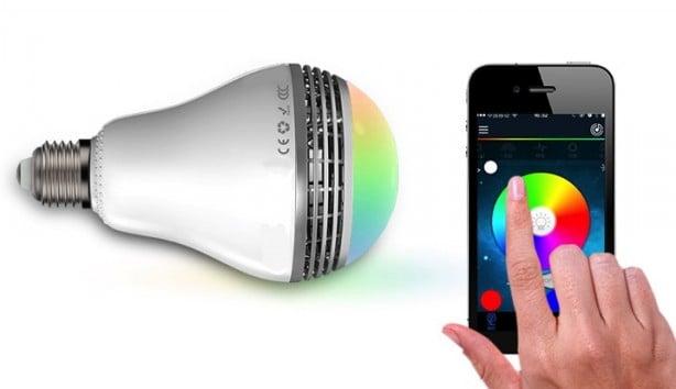 Ilight smart: lampadina led gestibili da iphone e speaker bluetooth
