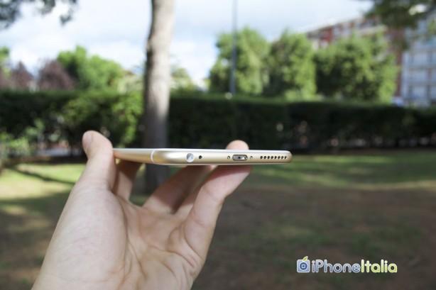 iphone 6s plus spessore
