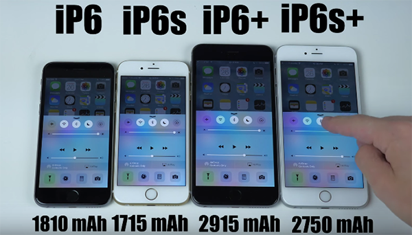 iphone 6 and 6s test della batteria iphone 6 iphone 6s iphone 6 plus e 2732