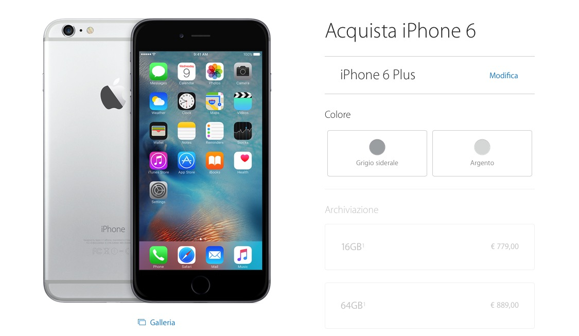 iphone 6 s nuovo offerte