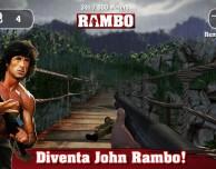 Diventa John Rambo nel gioco ufficiale per iOS