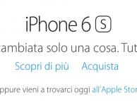 Apple apre le vendite Online dei nuovi iPhone 6s e 6s Plus