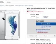 Su eBay è già disponibile il nuovo iPhone 6s con consegna dal 13 ottobre (e 20€ di sconto)