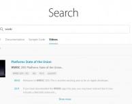 E' ora possibile effettuare le ricerche dei video WWDC tramite keyword