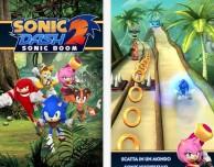 """""""Sonic Dash 2: Sonic Boom"""" – le nuove avventure di Sonic the Hedgehog"""