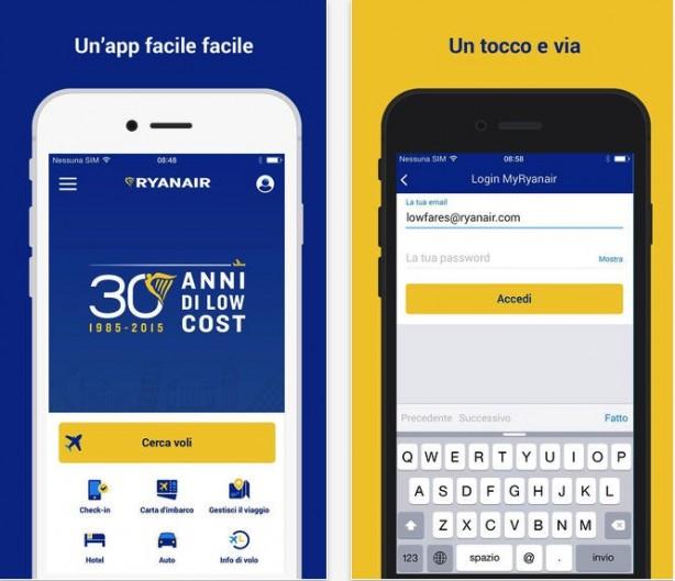 App ryanair iphone scaricare