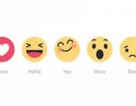 """Facebook sta testando il pulsante """"Mi piace"""" con sette diversi stati d'animo"""