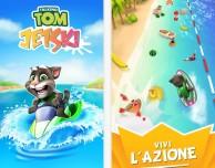 Talking Tom Jetski: il gatto parlante in una nuova avventura acquatica