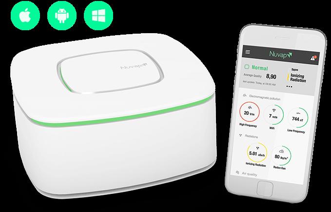 NUVAP N1, il primo dispositivo per monitorare l'inquinamento in casa grazie all'iPhone
