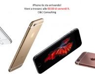 C&C Consulting conferma la notte bianca per il lancio di iPhone 6s a Bari!