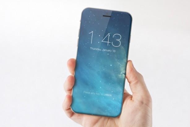 iPhone 7, nuovo concept con display enorme e senza tasto fisico Iphone-7-concept-marek-weidlich-614x410