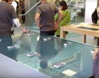 Apple installa tavolini touch-sensitive in due Apple Store