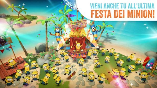 I Minion In Vacanza Nel Gioco Minions Paradise Iphone Italia
