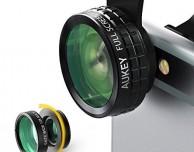 Due offerte lampo: kit di 3 lenti Aukey per la fotocamera dell'iPhone e cavo Lightning MFi!